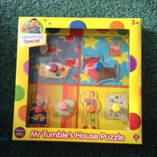 Something special mr tumble house puzzle £2 Tesco Sandhurst