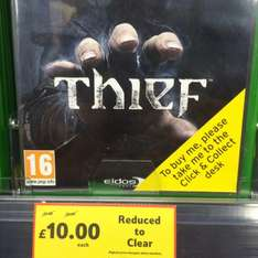 Thief on Xbox one £10 @ Tesco instore