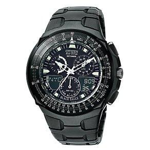 Citizen Eco-Drive Skyhawk Men's Black Bracelet Watch £98.99 @ H.Samuel, Possible 7% Quidco