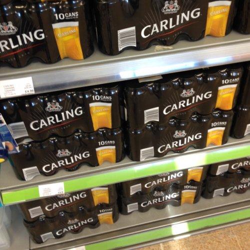 Carling pack of 10 £4.96 @ co-op food