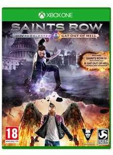 Saints Row IV Re-elected & Gat out of Hell XBox One & PS4 £28.85 @ Simply Games