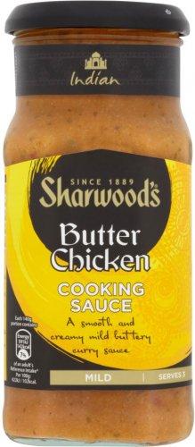 Sharwood's Sauces (420g) was £1.75 now 87p @ Ocado