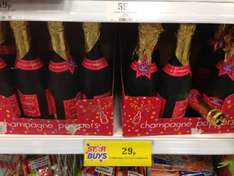 Home bargain In store. Champagne poppers only 29p