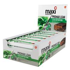 Maximuscle Promax Lean 60 g Choc Mint Weight Loss and Definition Bars - Box of 12 £12.00 @ Amazon