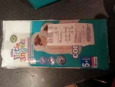 Little Angels Nappies 3 packs for £12 instore @ ASDA