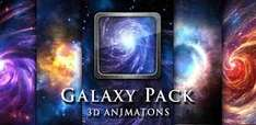 Android 'Galaxy Pack' Live Wallpaper App 50% Off - 68p