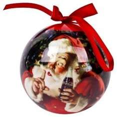 Coca cola bauble was 6.00 now 1.50 tesco direct free click & collect
