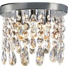 Inspire Venetia Droplets 3 Light Ceiling Fitting - WAS £29.99 - NOW £11.99 @ Argos