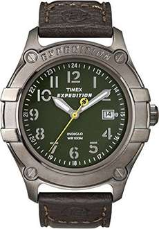 Mens Timex Expedition 100m WR with Indiglo Back Light £15.40 Delivered Free @ Amazon
