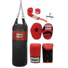 Lonsdale Boxing Set - Bag, Mitts, Pads, Straps, Hook.  £40 @ Sports Direct