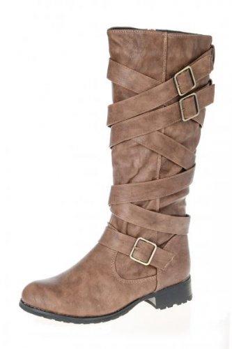 Multi strap boots £9.99 @ Quiz Clothing