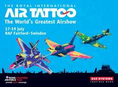 Royal International Air Tattoo (RIAT) SuperEarlyBird tickets from £26 (inc £10 discount), Free Children