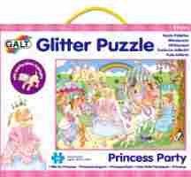 Galt 60 piece Princess Glitter Puzzle was £8.99 now £1.93 add on item @ Amazon
