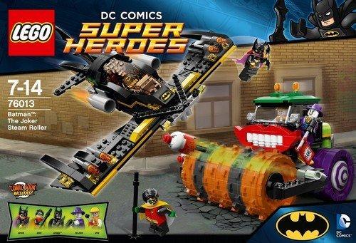 LEGO Super Heroes 76013 Batman: The Joker Steam Roller @ Amazon  £34.99 down from £50