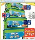 Huggies Nappies with free toy box - netto - thursday 14th - £13.99