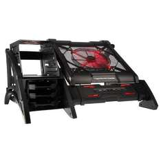 Aerocool Strike-X Air Open Frame PC Case E-ATX 0.7mm USB3 with 20cm LED Fan - Red £73.93 @ CCL