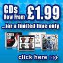 DVDs and CDs from £1.99 delivered at HMV.co.uk