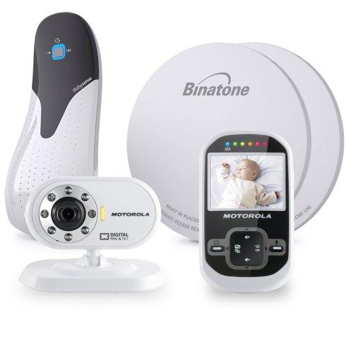 Motorola MBP26 Digital Video Monitor Babysense Bundle @ Amazon for £98.40 less £15 off Amazon Family voucher = 83.40 in total