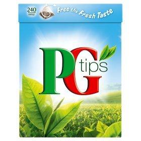 PG Tips 240 Pyramid Teabags @ asda - £2.97