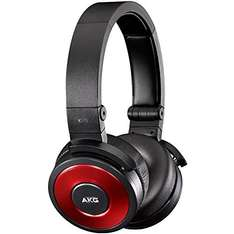 AKG Premium K619 Headphones with iPhone Controls and Microphone (Red)  £22.25 delivered @ Amazon