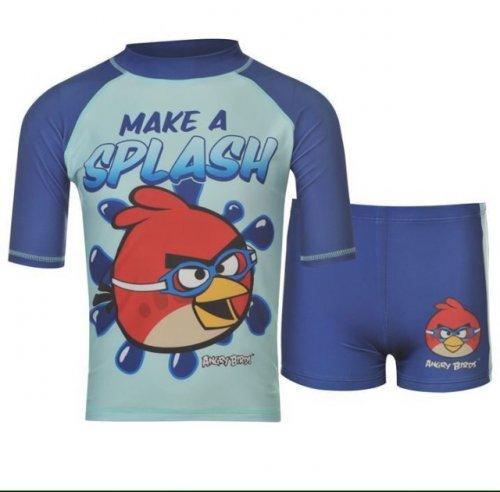 Two Piece Boys Swim Set Angry Birds £4.00 Sports Direct Ebay