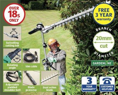 Electric Pole Hedge Trimmer £59.99 @ Aldi