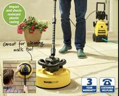 Aldi Patio and Wall cleaner attachment for pressure washer (with 2 adaptors for other brands) £14.99