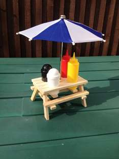 6pc Condiment Picnic Bench Set £5 In Store @ The Range