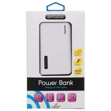 Optimum Power Bank Charger 5000mAh - £9.99 - B&M Retail