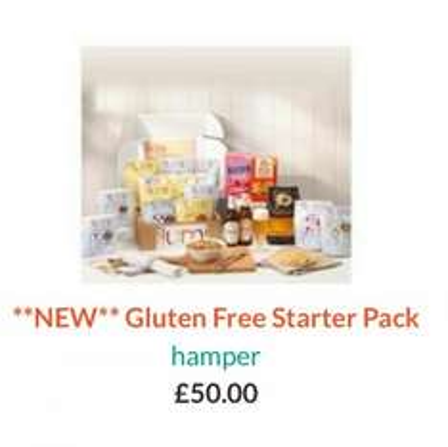 Ilumi Gluten Free Hamper 1/2 price with code. £25 with free postage.