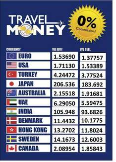 Euro rate 1.38 , no minimum spend !!! H and T Pawnbrokers