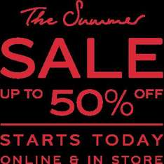 Reiss up to 50% off sale