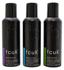 Fcuk Bodyspray Deodorant Trio @ Boots for £5 (Normally £10)