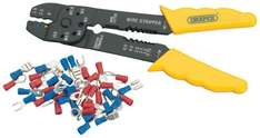 Draper DIY Series 08677 Stripper and Crimping Pliers Set - £1 Delivered With Prime or £4.30 Without