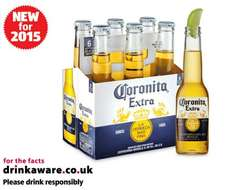 6 bottles of Corona (Coronita Extra) £3.79 on sale from today. Works out at £7.58 for 12 at Aldi