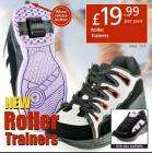 Roller trainers - £19.99 @ Netto from 08 March 2007