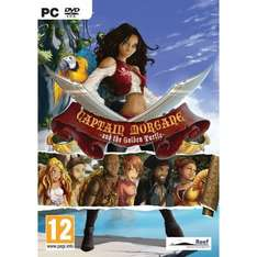 Captain Morgane & The Golden Turtle 77p PC Steam download @ Greenman Gaming