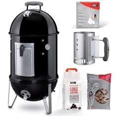 Weber Smokey Mountain - 37cm (New) + Cover + Free Shipping - £223.99 (WowBBQ) £224.69