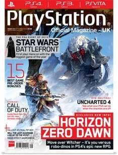 3 big issues of Official PlayStation Magazine (20th Anniversary/Star Wars/2015 Awards) £3 @ My favourite Magazines