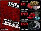 EBTM Clearance - Items for £5/£10/£20   20% Off   Quidco   Free Delivery