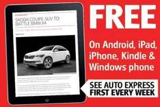 Auto Express magazine now available for free on Apps across all platforms