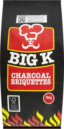 Big K Charcoal Briquettes 5kg £1.49 @ Aldi