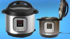 Costco £89.98,Instant Pot Duo 7-in-1 Electric Pressure Cooker, 6 Litre, 1000 W, Brushed Stainless Steel/Black - AMAZON currently £120.98