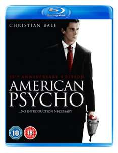 American Psycho 15th Anniversary Edition [Blu-ray] (Lionsgate) £6 in 5 for £30 in store / online @ Hmv (£8.99 on its own) [£10.99 incl delivery online; free delivery on orders over £10]