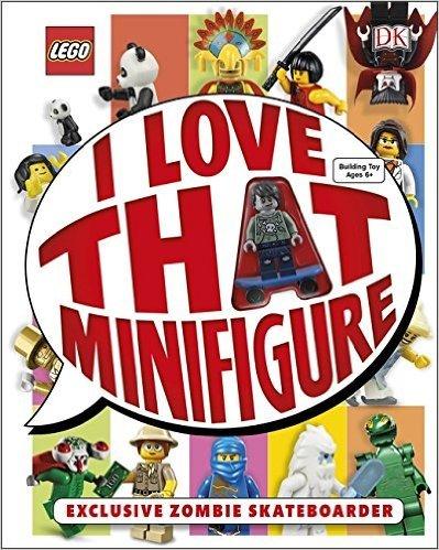 LEGO® I Love That Minifigure! Hardcover Book £4.99 (Prime/ £10 Spend on books)/ £7.98 (Non-Prime + P&P)