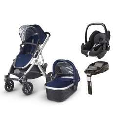 Uppababy Vista (2015) Pushchair and Maxi-Cosi Pebble Plus Car Seat £779 @ Lesters