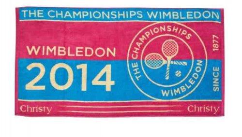 Wimbledon Ladies Championship towel 2014 £5 +£4.95 del @ Wimbledon Shop