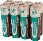 High capacity rechargeable NIMH batteries