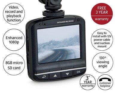 1080p Dashboard Camera £29.99 in Aldi from 19th nov