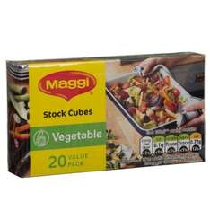 Maggi Vegetable Stock Cubes (20 pack) was 99p now 10p @ B&M